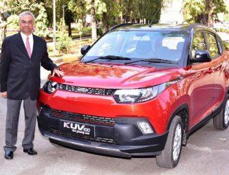 Mahindra KUV 100 Anniversary Edition launched