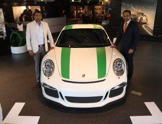 Porsche delivers 911R to Indian customer