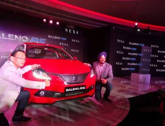 Maruti Suzuki Baleno RS launched at Rs 8.69 lakh