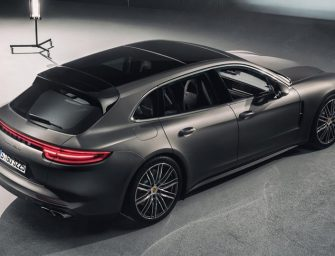Porsche's Panamera Sport Turismo is the world's most exotic station wagon