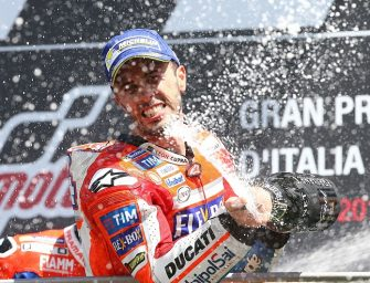 Dovizioso Secures Back-to-Back Win for Ducati