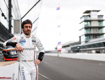 Fernando Alonso Wins Best Rookie Award at the Thrilling Indy 500
