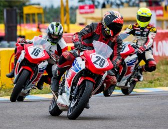 Honda Records 7 Podiums in Round 1 of FMSCI National Motorcycle Championship 2017
