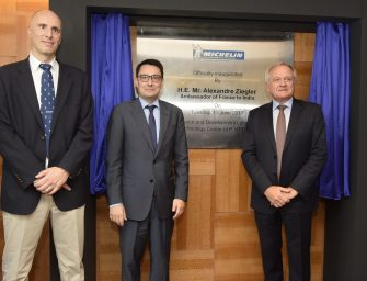 Ambassador of France to India inaugurates Michelin India Research and Development Laboratory in Manesar, Haryana