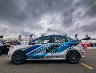 Volkswagen Ameo Cup Race Car grabs third position in the MMSC FMSCI National Drag Racing Championship