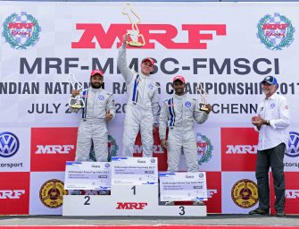 Kolhapur's Dhruv Mohite registers first win in a difficult Race 4 of the 2017