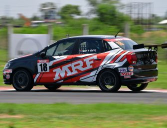 Devin Robertson wins the first race of the Round 2 of Ameo Cup 2017