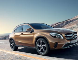 Mercedes-Benz GLA facelift launched at Rs 30.65 lakh
