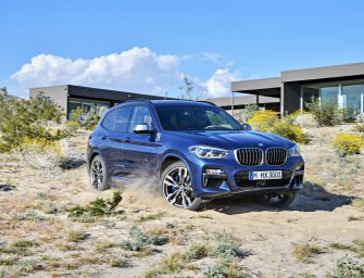 BMW unveils all-new X3