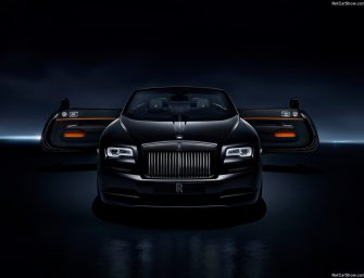 Rolls Royce unveils Dawn Black Badge