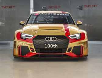 Audi Sport customer racing presents the 100th  Audi RS 3 LMS