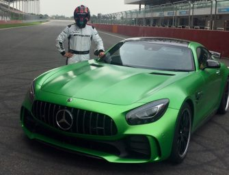 Mercedes-AMG's GT R sets lap record at B.I.C