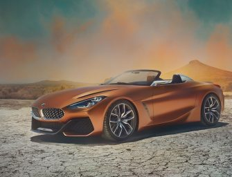 BMW's new Z4 Concept unveiled