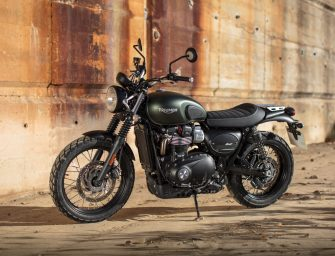 Triumph Motorcycles launches the all-new Street Scrambler