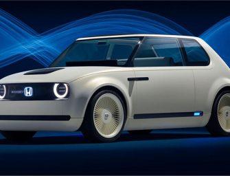 Honda unveils Urban EV concept