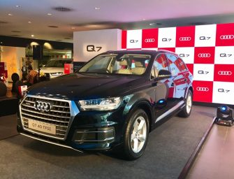 Audi Q7 40 TFSI launched at Rs 67.76 lakh