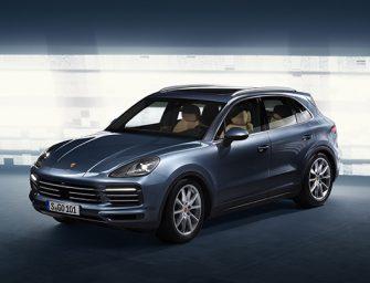 Porsche unveils new Cayenne
