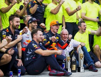 Horner Believes Young Verstappen Can Build Red Bull Team Around Him