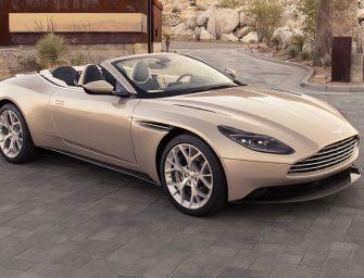 Aston Martin reveals DB11 Volante