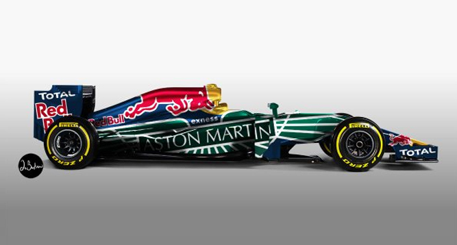Aston Martin Becomes Official Title Supplier For Red Bull F1 Team Pitstop