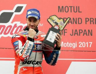 Andrea Dovizioso Beats Marquez To Win At Motegi
