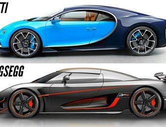 How Koenigsegg Ripped Bugatti Veyron's 0-400-0 Record