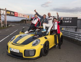 Porsche 911 GT2 RS is the fastest sports car in Nürburgring at 6 minutes, 47.3 seconds
