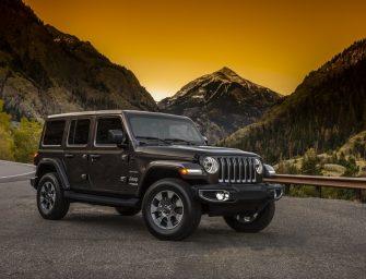2018 Jeep Wrangler unveiled