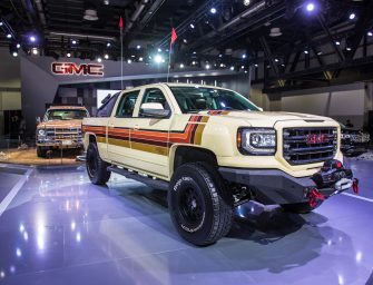 GMC premieres Desert Fox Middle East concept vehicle at Dubai International Motor Show