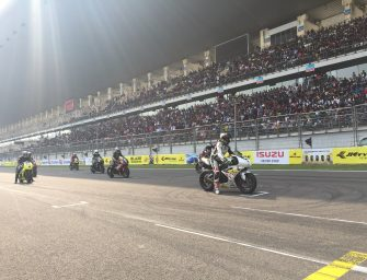 Triumph Motorcycles races to the finish at the JK Tyre Racing Championship 2017
