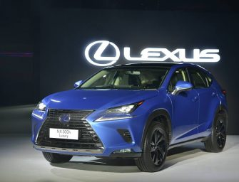 Lexus launches NX300h in India