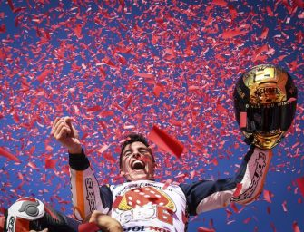 Marc Marquez Becomes Six Time World Champion