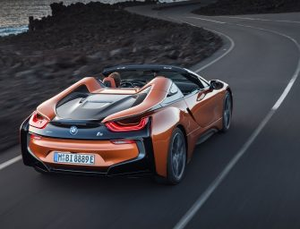 Hot and Hybrid: 2018 BMW i8 Roadster unveiled