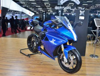 Emflux ONE Electric Superbike unveiled at Auto Expo 2018