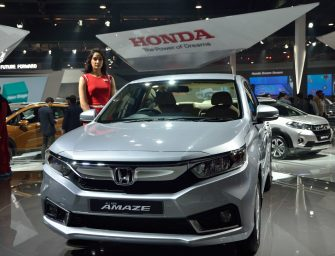 Next Generation Honda Amaze unveiled at Auto Expo 2018