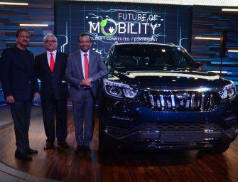 Mahindra showcases the 'Future of Mobility' at Auto Expo 2018