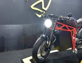Menza Motors India's Only Bootstrap automobile manufacturing Start-up Unveils the First Look of Electric Motorcycle MENZA LUCAT