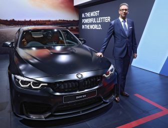 The new BMW M3 Sedan and the new BMW M4 Coupé launched in India
