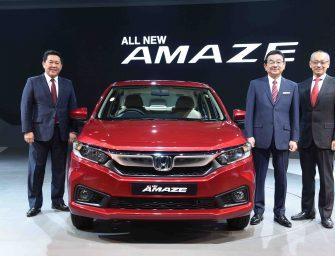 All-New 2nd Generation Honda Amaze launched at Rs. 5.59 lakh onwards