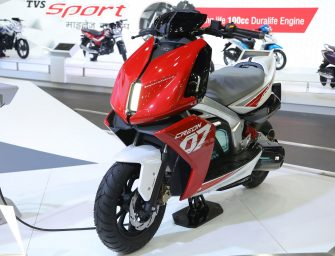 Promising concepts by TVS at Auto Expo 2018