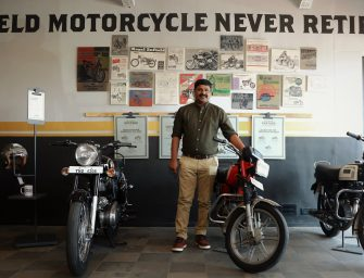 Royal Enfield Launches Vintage Store in Chennai