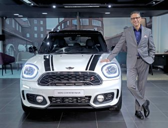 The all-new MINI Countryman launched in India.