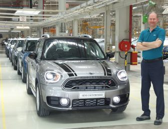 The all-new MINI Countryman local production starts at BMW Group Plant Chennai