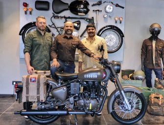 Royal Enfield Classic 500 'Pegasus' motorcycle launched in India