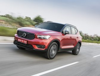 Volvo XC40 launched at a price tag of 39.9 lakh INR