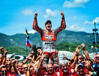 Mugello MotoGP: Lorenzo Takes First Ducati Win