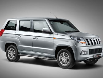Mahindra launches the All-New TUV300 PLUS at INR 9.47 LAKH