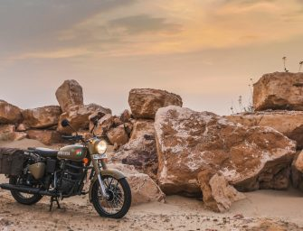 Royal Enfield launches Classic Signals 350 Airborne Blue and Stormrider Sand with Dual Channel ABS
