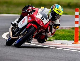Snatching both pole positions in qualifying, Honda riders get ready for Round 4 of INMRC