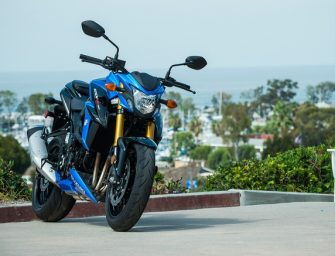 Suzuki GSX-S750 is the company's first middleweight motorbike!